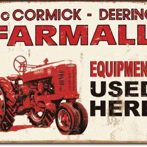 Farmall Equipment Used Here