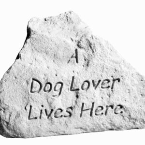 A Dog Lover Lives Here