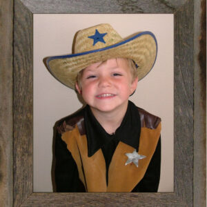 "8"" x 10"" Narrow Western Picture Frame"