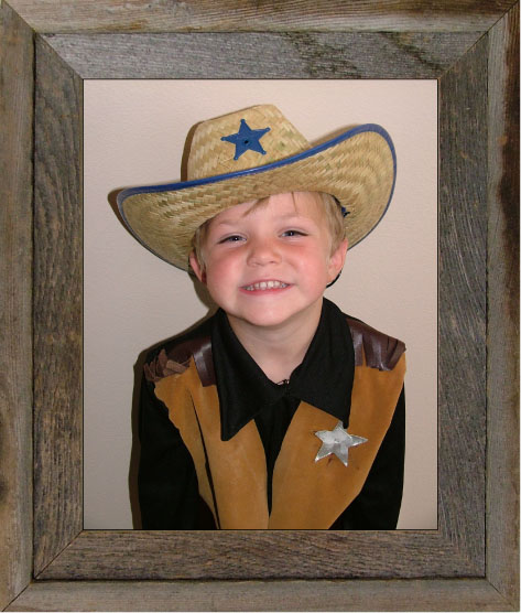 """8"""" x 10"""" Narrow Western Picture Frame"""