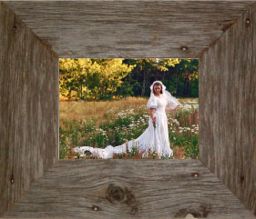 """20"""" X 30"""" Barnwood (3"""")Picture Frame ID#WR-2030NG"""
