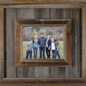 "8"" x 12"" Durango Western Barnwood Frame"