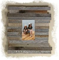 "5"" x 7""(4.75"") Beachcomber ""Shanty"" Reclaimed Wood"