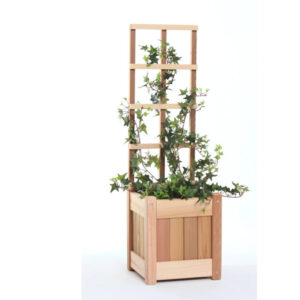 2 pc. Planter Set / w Trellis PL10U-T