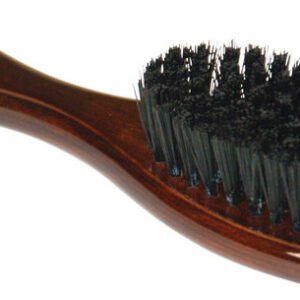 "6"" Nylon Bristle Brush /w Wood Handle"