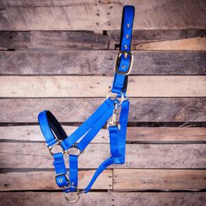 Adjustable Lined Halters - Royal Blue