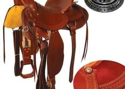 Dr. J® Wade Roper Saddle