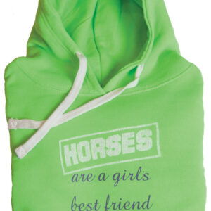 """Horses Are a Girls Best Friend"" Hoodie"