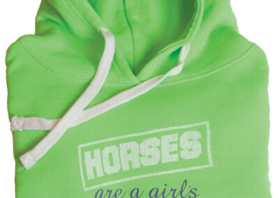 """""""Horses Are a Girls Best Friend"""" Hoodie"""