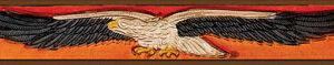 Brown Leather Eagle Belt