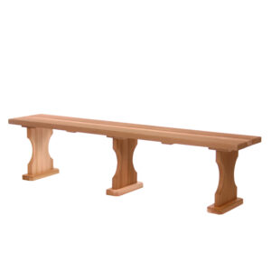 6' Backless Garden Bench