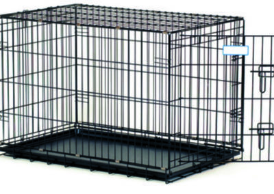 Dog Crate Black Plastic Replacement Pans